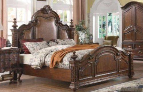 Yuan Tai Furniture Rs5271k Ramses King Leather Bed By Yuan Tai