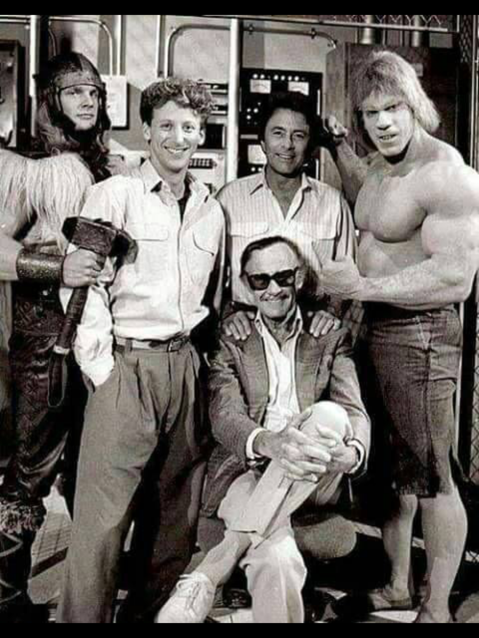 Some Of My Childhood Heroes With Stan Lee Marvel Comics Superheroes Superhero Comic Hulk Tv