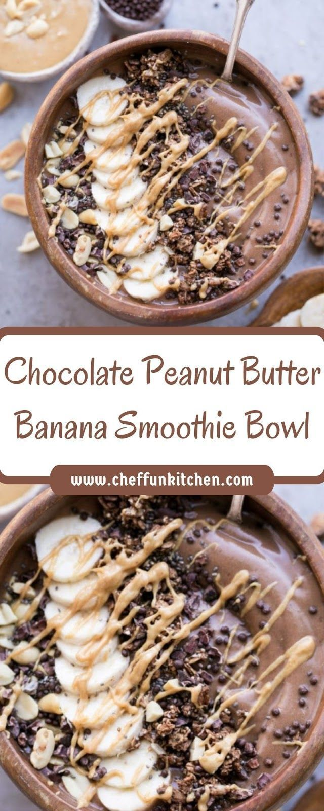 Best Totally Free Chocolate Peanut Butter Banana Smoothie Bowl   - ~DESSERTS~ - #Banana #bowl #But...  Style   Smoothie Recipes  delightful and healthy… There are so many recipes  floating on the net today bu #Banana #Bowl #Butter #Chocolate #desserts #Free #Peanut #Smoothie #Style #Totally #chocolatebananasmoothie
