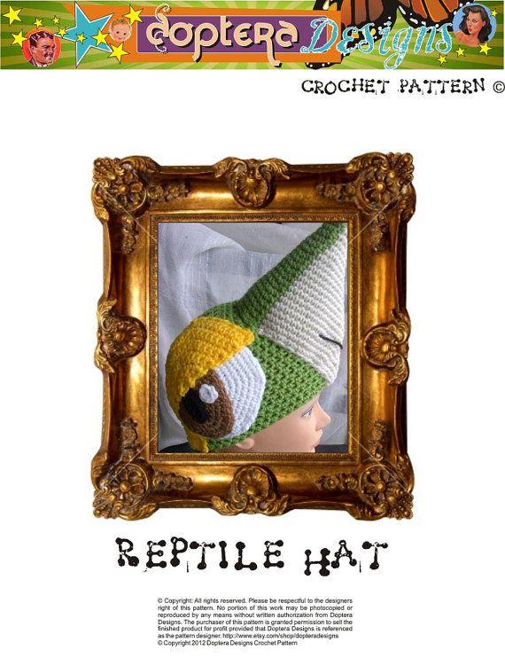 Crochet Snivy Hat Pattern
