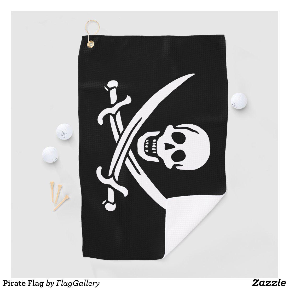 Pirate Flag Golf Towel