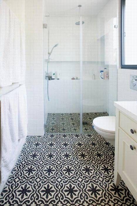BlackNwhite Floor