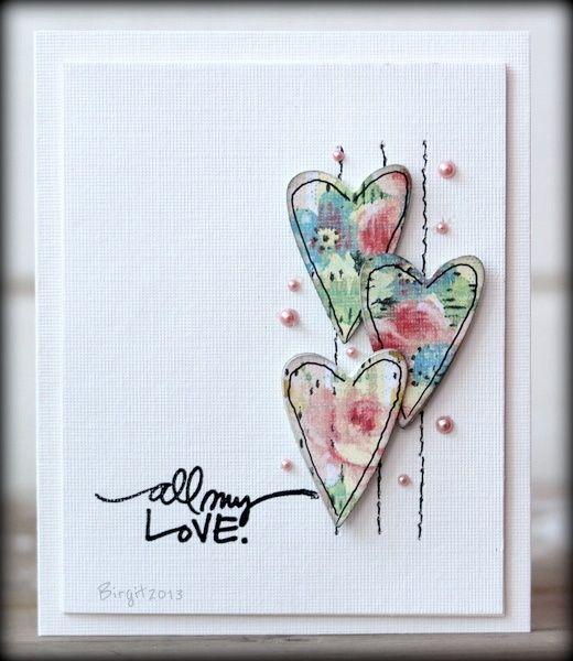 Hearts ... all my love.