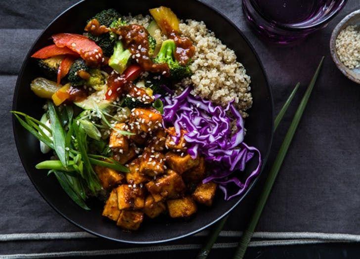 Korean barbecue stir-fry bowl. Get the recipe.