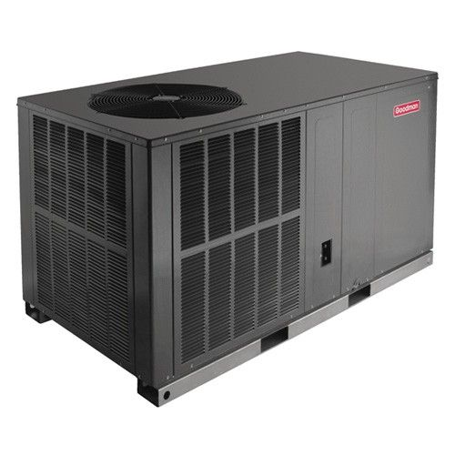 Goodman 2 5 Ton 14 Seer Dedicated Horizontal Packaged Heat Pump System Heat Pump Air Conditioner Heat Pump System Air Conditioner
