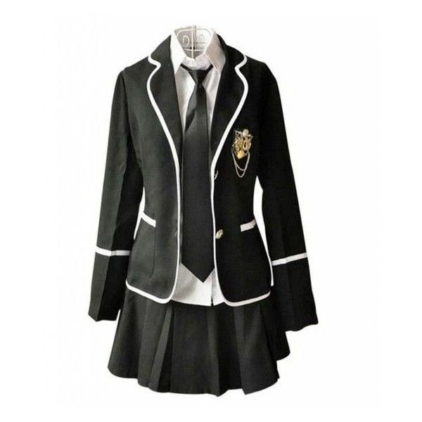 25 Best School Uniform Outfits Ideas Liked On Polyvore