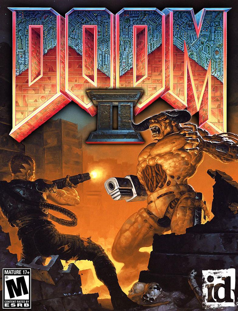 Doom Ii Box Art High Resolution By Llortor On Deviantart Videojuegos Wallpaper Memes De Videojuegos Mis Juegos Favoritos