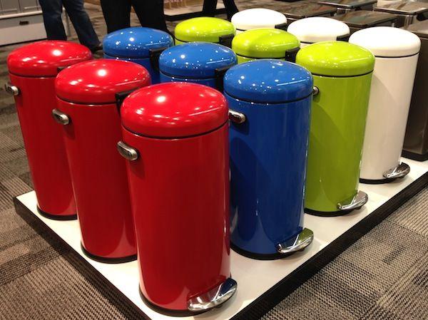 hailo big-box® touch 60-liter waste bin in white buy designer