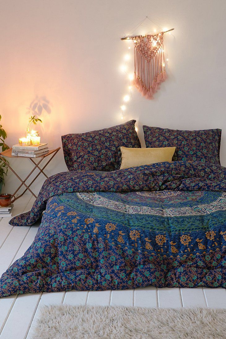 Magical Thinking Blue Medallion Comforter Urban Outfitters Home Blue Comforter