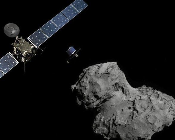 La misión Rosetta de la ESA toma su nombre de la famosa piedra Rosetta. ¿Por qué? Todos los detalles aquí: http://www.muyinteresante.es/ciencia/fotos/15-datos-y-curiosidades-sobre-la-mision-rosetta/mision-rosetta-1 #ciencia #science
