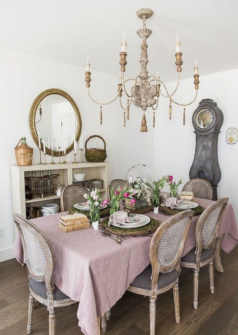 68 Awesome French Country Dining Room Table Decor Ideas Dining Room Table Decor French Country Dining Table Country Dining Tables