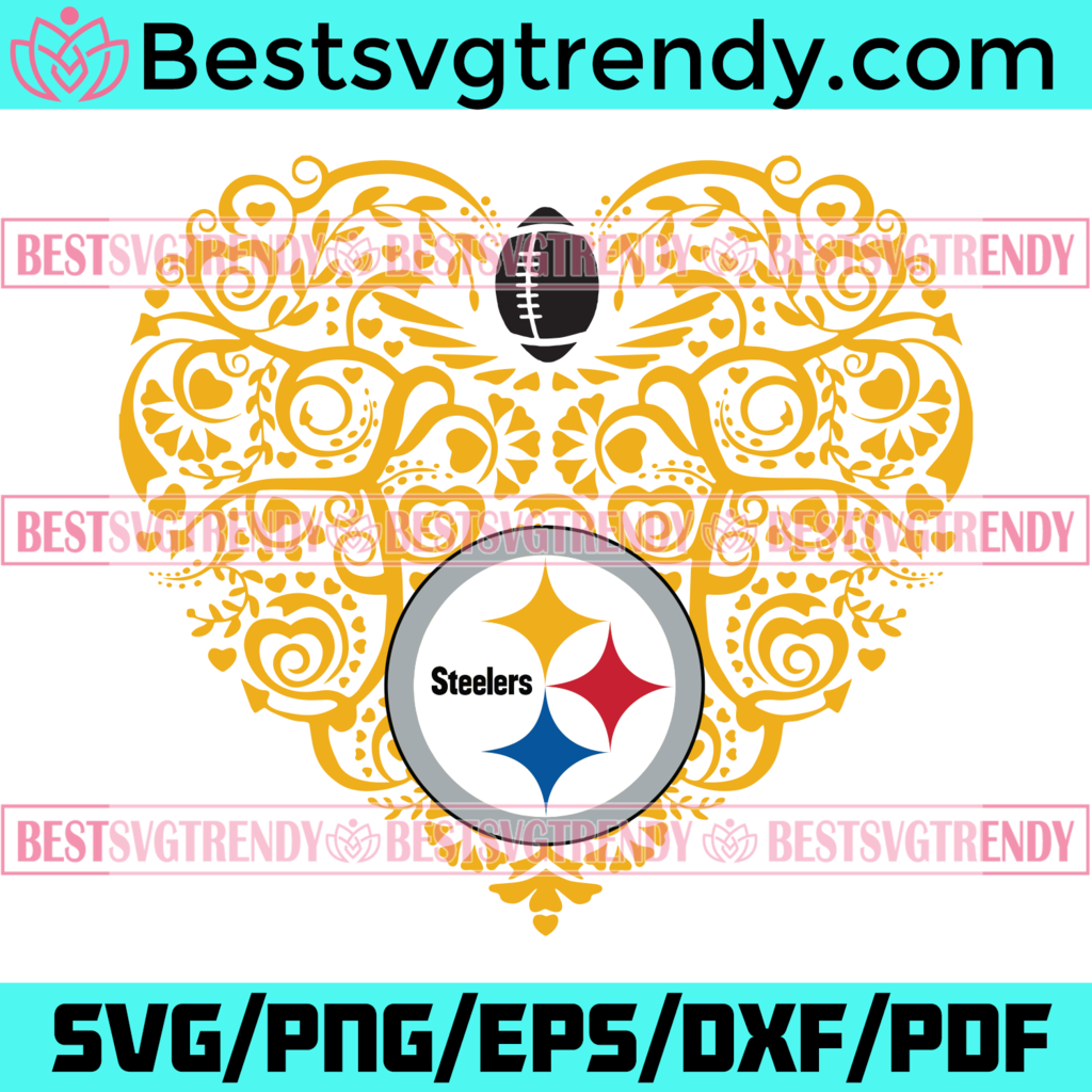Pittsburgh Steelers Heart Svg Sport Svg Pittsburgh Steelers Steelers Svg Steelers Heart Svg Steelers Nfl Steelers Logo In 2021 Sports Svg Svg Silhouette Creative