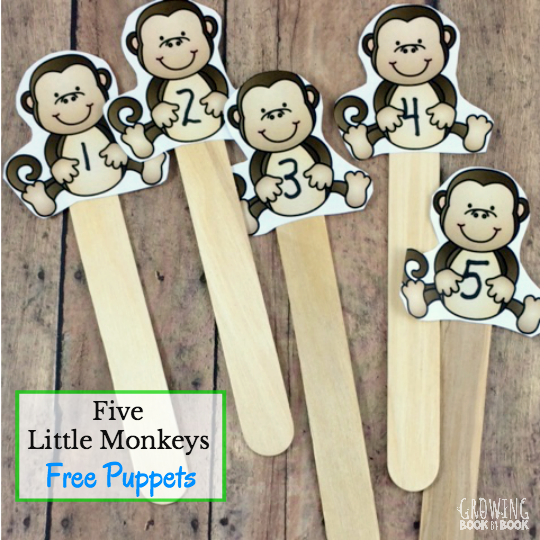 Free Literacy Printables Monkey