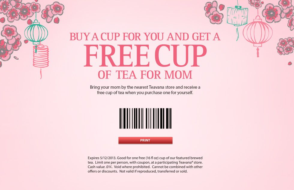 teavana tea coupon