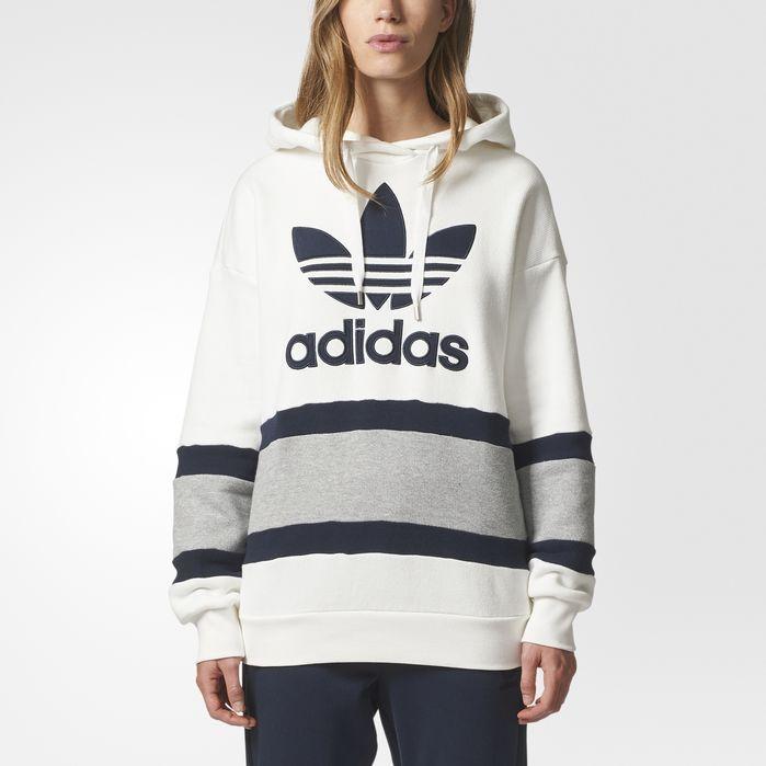 5301459cea68 adidas Trefoil Hoodie - Womens Hoodies   Sweatshirts