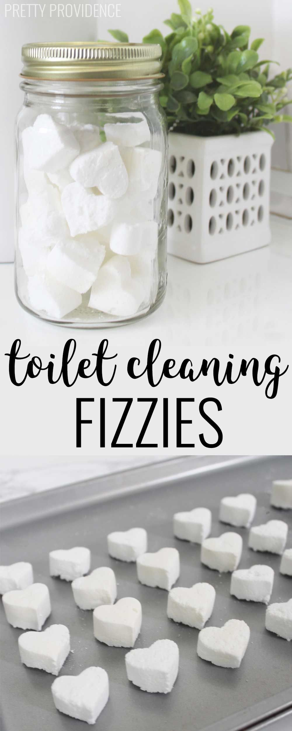 Fizzy Toilet Bombs #cleaning