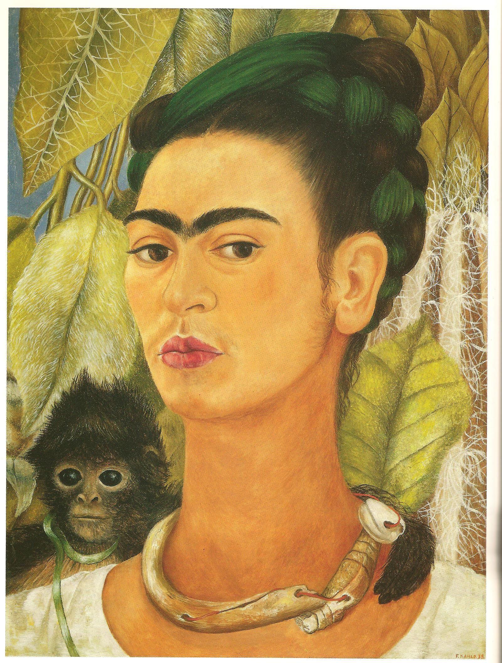 frida kahlo painting techniques