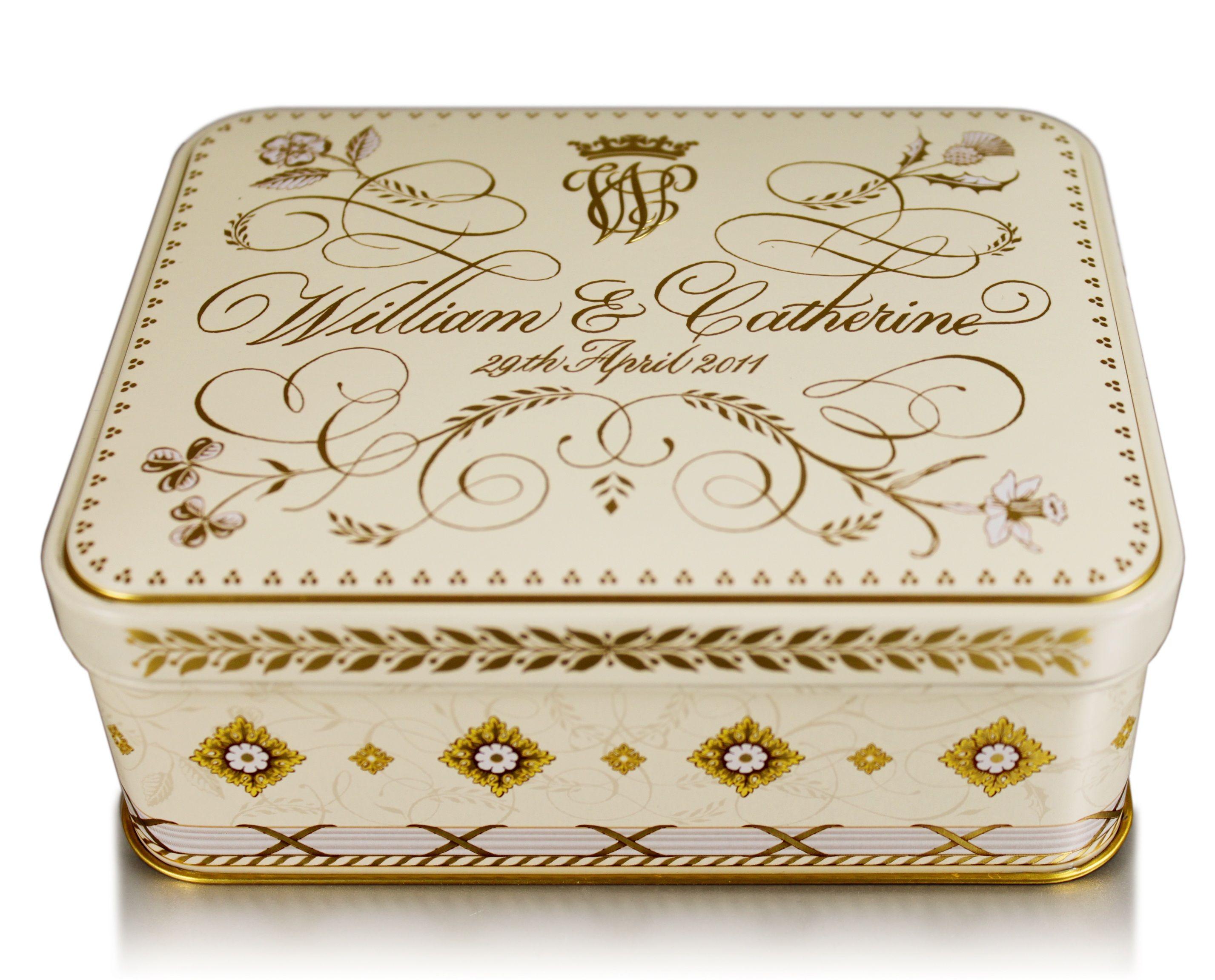Royal Wedding Cake Tin