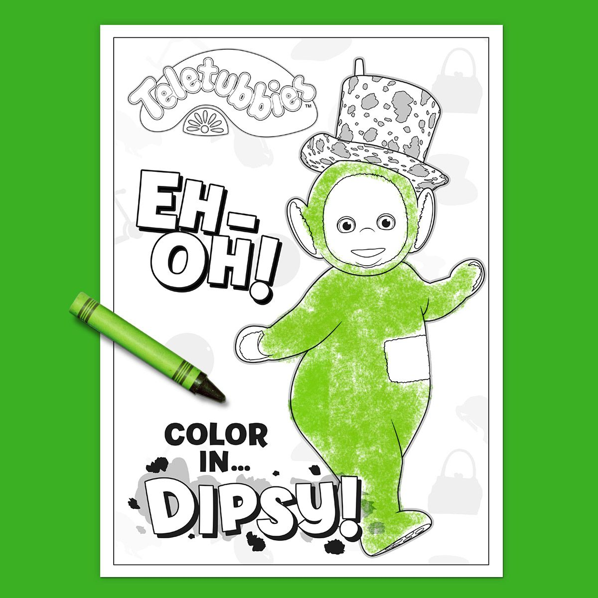 Coloring Page: Dipsy