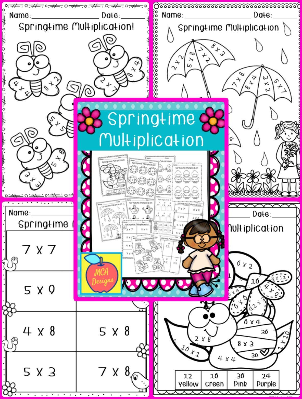 Springtime Multiplication