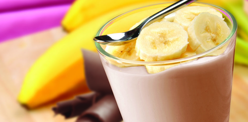 Mix it up with delicious Frozen Chocolate Shake!     2 scoops Vi-Shape® Shake Mix  1 packet Banana Energy Charge Health Flavor  1 packet Chocolate Cardia Care Health Flavor  8-10 oz Non-Fat Milk, or Soy, Rice or Almond Milk  4-6 Ice Cubes