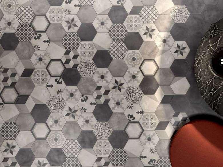 Piastrelle effetto cementine di ceramiche marca corona cementine