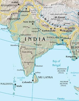Hinduism Has Approximately Million Followers Primarily In The - Hindu countries in world map