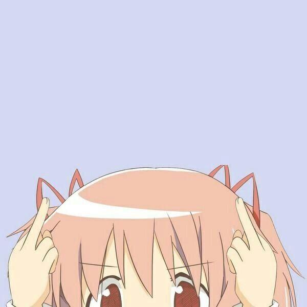 Madoka Anime Expressions Anime Meme Face Anime Wallpaper Iphone