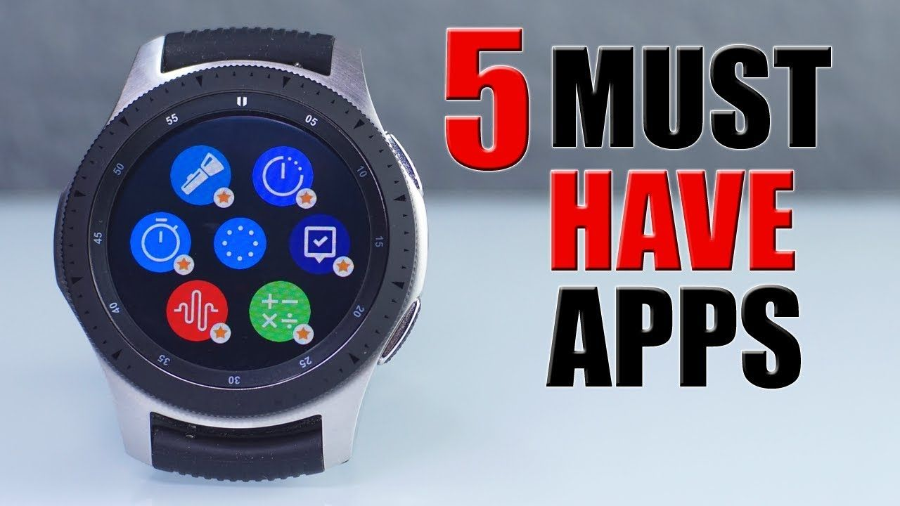 BEST UTILITY Apps for the New Samsung GALAXY WATCH New