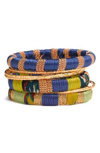 Cara mixed media bangles via Nordstrom.