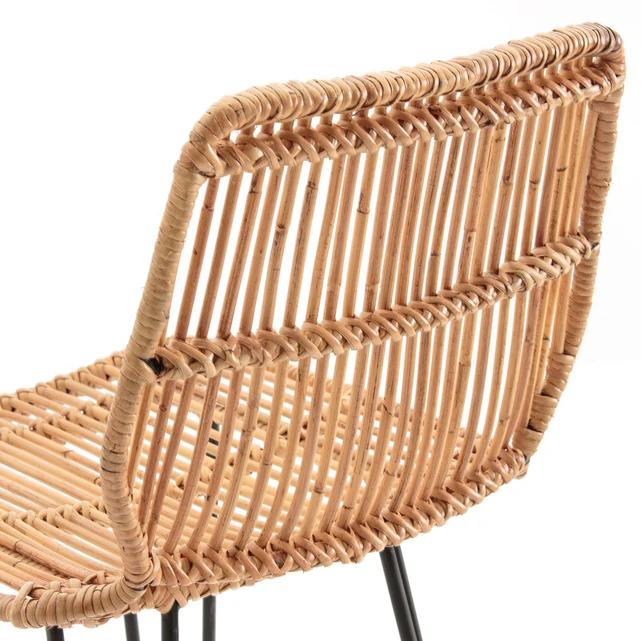 Chaise De Bar En Kubu Malu La Redoute Interieurs La Redoute Wicker Chair Chaise Chair