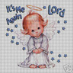 It's Me Again Lord Crochet Pattern