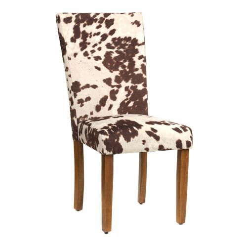 Product Details Udder Madness Parsons Chair  Home is