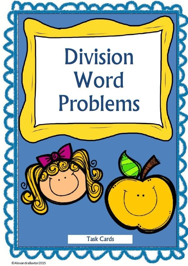 This is a printable of division word problems that you can print ...