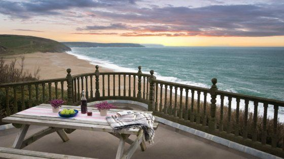 Surprising View From The Terrace Of Bar Lodge Holiday Cottage In Interior Design Ideas Pimpapslepicentreinfo