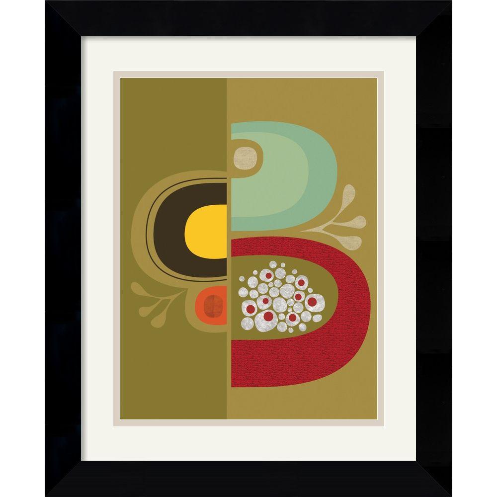 Jenn Ski \'Division No. 1\' Framed Art Print   TO PAINT   Pinterest ...