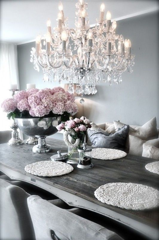 Rustic Chic Dining Room With Images Dining Room Decor Decor Decor Inspiration