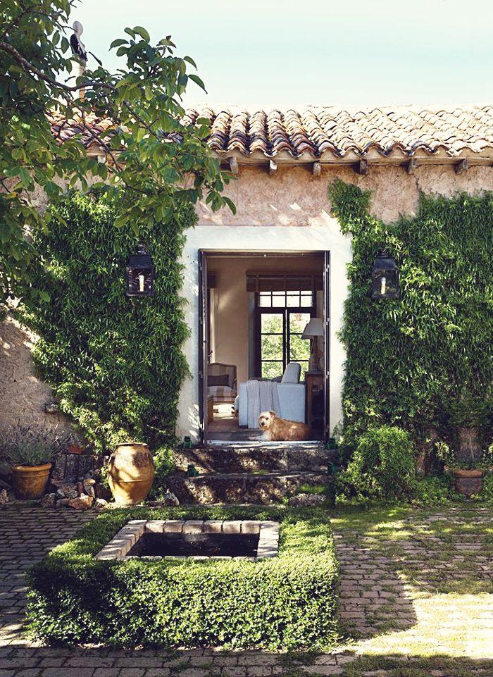 spanish style mediterranean style pinterest sch ne. Black Bedroom Furniture Sets. Home Design Ideas