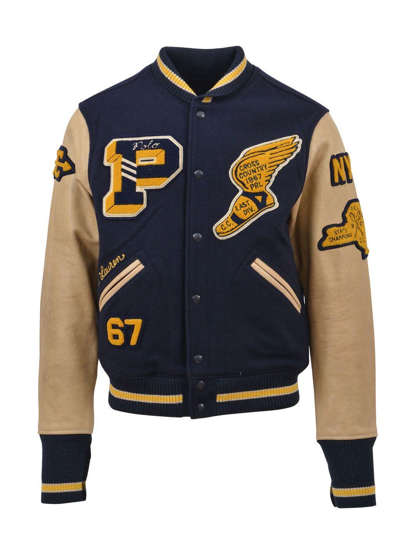 Polo Ralph Lauren College Bomber Jacket Poloralphlauren Cloth [ 1440 x 1080 Pixel ]