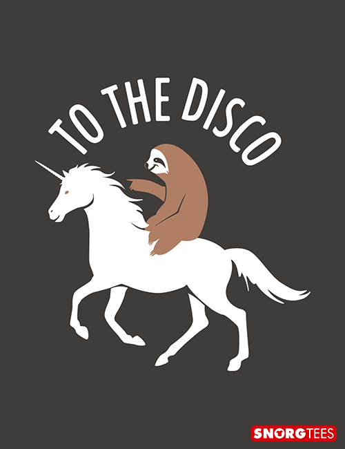 0f09805ce Awesome t-shirt of a sloth riding a unicorn. Shop