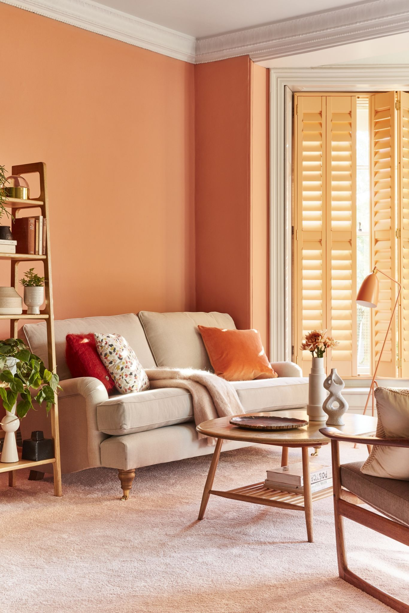 27 Fresh And Beautiful Living Room Paint Color Ideas Living Room Orange Living Room Paint Living Room Colors #orange #paint #living #room