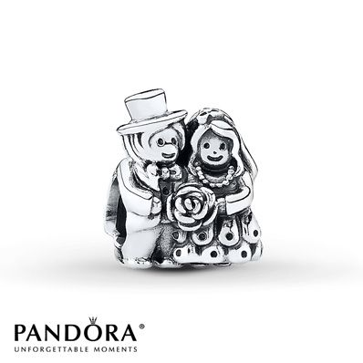 Pandora Charm Now Mr. & Mrs.  Sterling Silver www.pandoraaustraliagifts.org