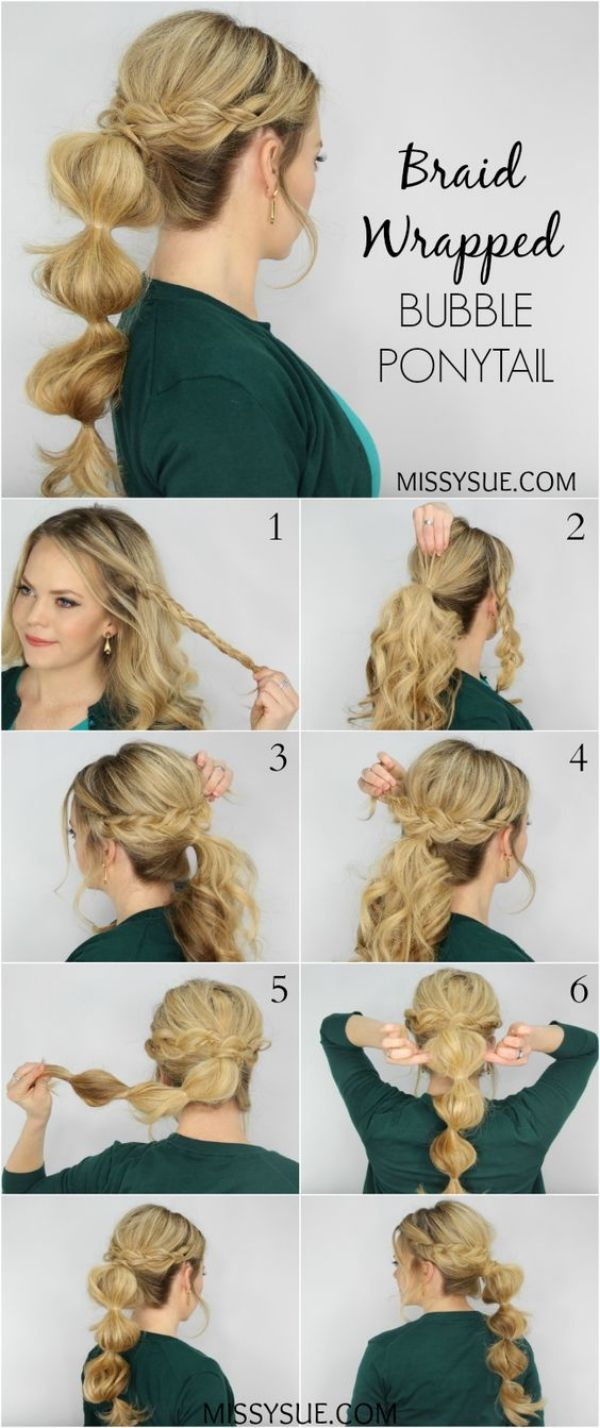 cute and sexy braided hairstyles for teen girls