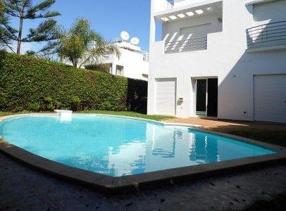 Pingl par sakangest immobilier sur location villa vide - Location maison avec piscine marrakech ...