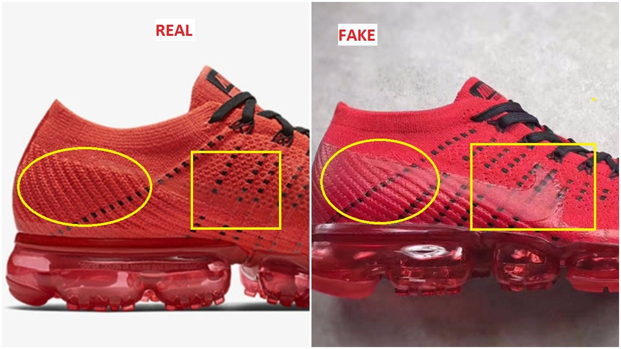 e88b4e4bc04b Fake Clot Nike Air Vapormax Flyknit Spotted-Quick Tips To Identify Them