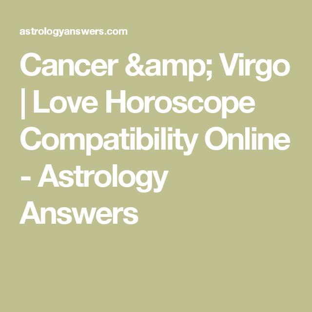 Cancer & Virgo | Love Horoscope Compatibility Online - Astrology