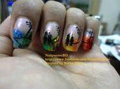 Photo of Colorful Nails  Nail Art Gallery nailartgallery.na by NAILS Magazine nailsma