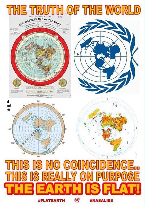 Pin by H. on Awake from the lies | Flat earth conspiracy, Flat