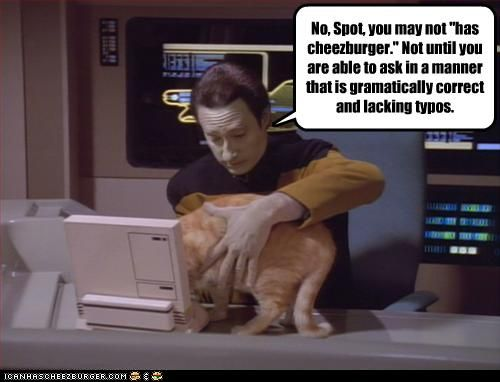 Data so would say that!