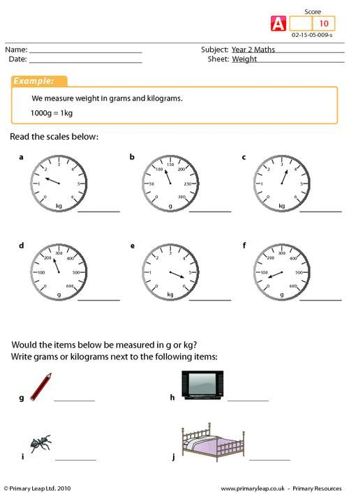 weight worksheet maths printable worksheets primaryleap pinterest. Black Bedroom Furniture Sets. Home Design Ideas